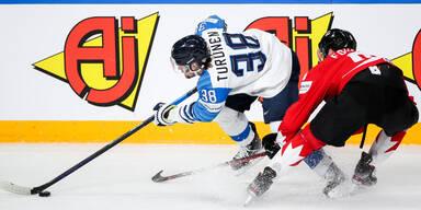 Eishockey-WM: Kanada gegen Finnland