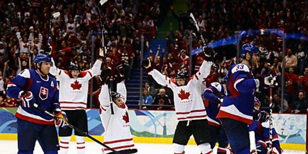 Eishockey-Traumfinale Kanada gegen USA perfekt