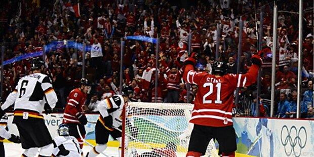 Kanada im Viertelfinale gegen Russland
