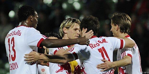 Ein Sieg fehlt Salzburg noch auf den Klubrekord