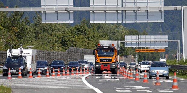 Arlbergtunnel kurzzeitig wegen Unfalls gesperrt