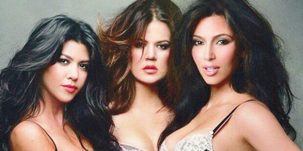 Kims sexy Schwestern in Dessous