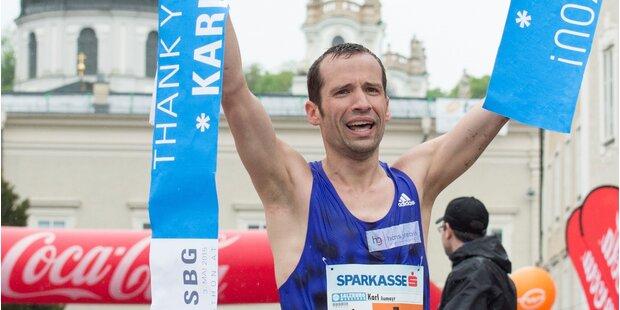 Aumayr gewinnt Salzburg Marathon