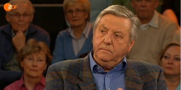 Karl Moik packt im Fernsehen aus
