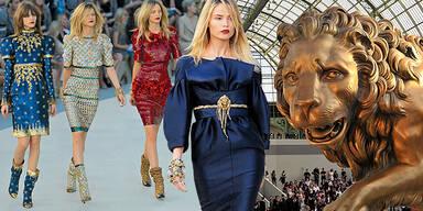 Karl Lagerfeld König der Löwen Chanel Haute Couture Paris