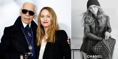 Karl Lagerfeld Vanessa Paradis Coco Chanel