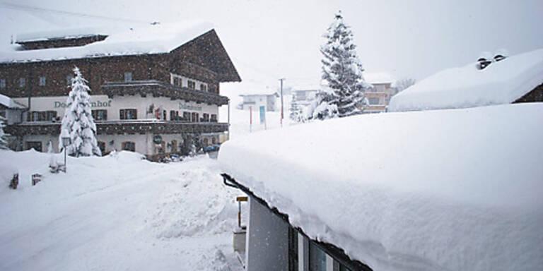 Die Bilder der dramatischen Schneesituation