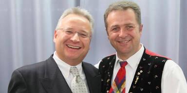 Kastelruther Spatzen: Helmut W. Brossmann und Norbert Rier