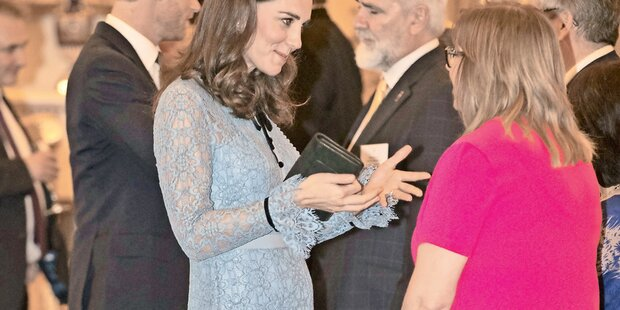 Kate: Erstes Foto mit Babybauch