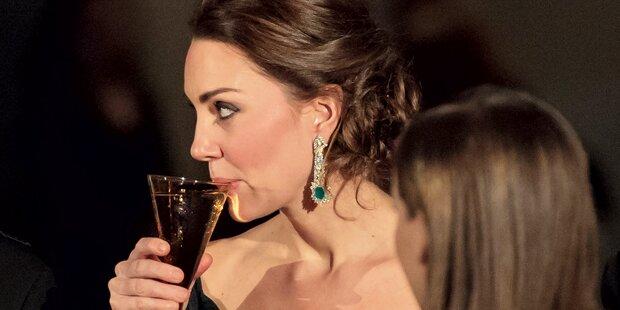 Kate & William: Ein Glas zum Abschied