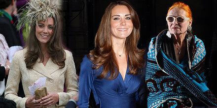 Vivienne Westwood: Kate hat wenig Stil