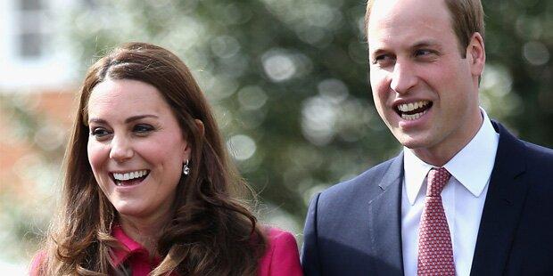 Warten auf Herzogin Kates Baby