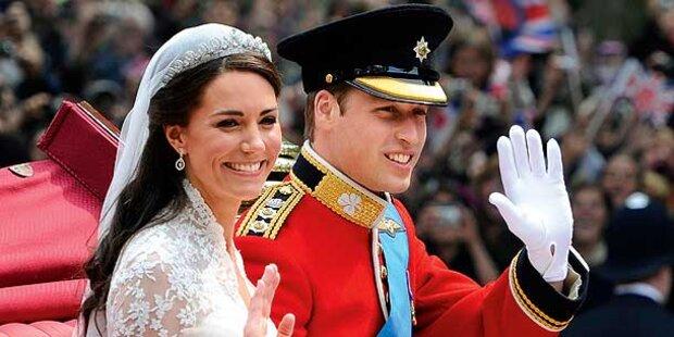 Zweite Hochzeit für Royals