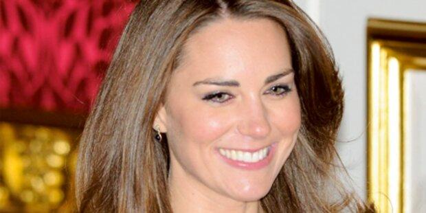 Kates erster Auftritt als Charity-Engel