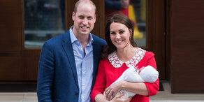 Royales Baby gebührend gefeiert