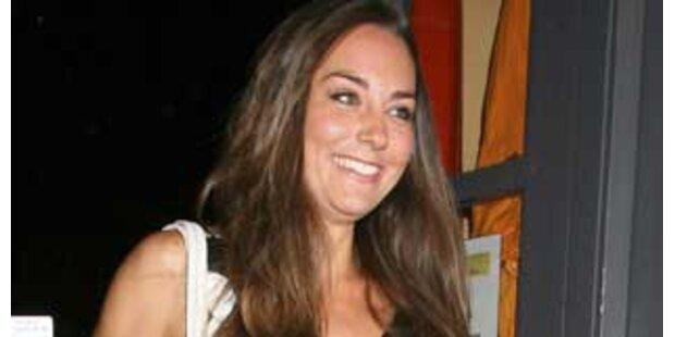 Kate Middleton lernt von Prinz Charles das Jagen