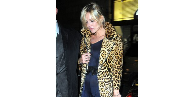 Im 3. Monat: Neue Baby-Gerüchte um Kate Moss