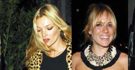 Zickenkrieg zwischen Kate Moss und Sienna Miller