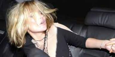 Kate Moss gab sich die Kante