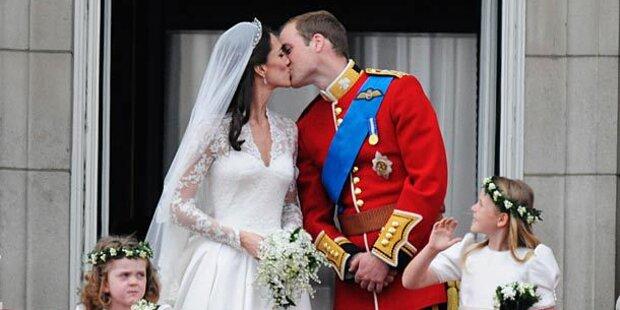 Dauer einer Promi-Ehe ist berechenbar