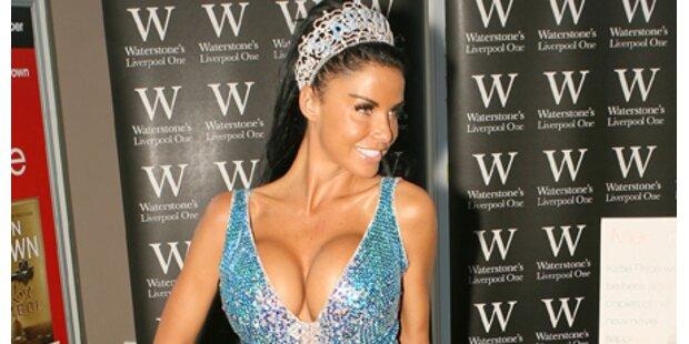 Katie Price: Brüste berühren verboten!