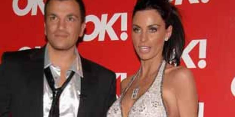 Katie Price mit Ehemann Peter Andre