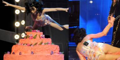 Katy Perry: Sturz auf der Bühne