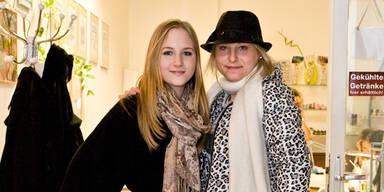 Katzi Anastasia Sokol und Jacqueline Lugner