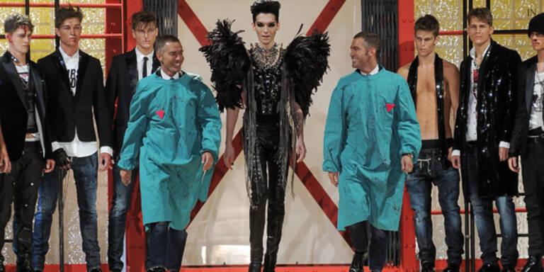 Catwalk-Premiere: Bill Kaulitz modelt in Mailand