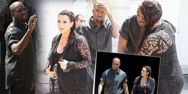 Kanye West geht auf Paparazzo los