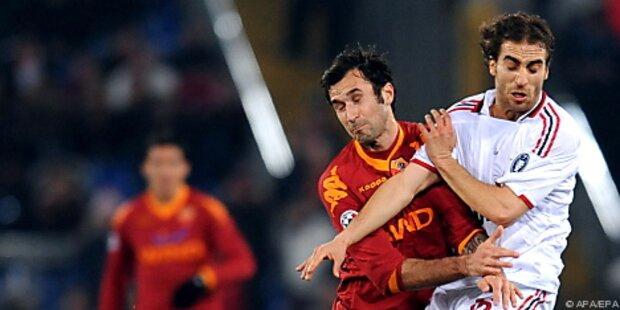 AC Milan 0:0 gegen AS Roma im Duell der Verfolger