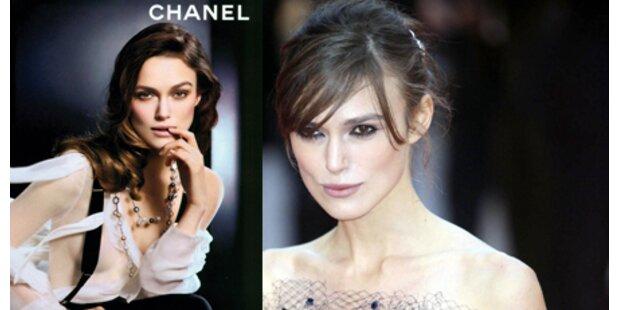 Keira Knightley schön für Chanel