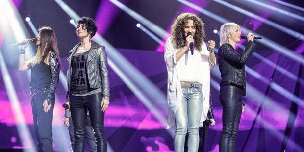 Song Contest: Kelly zu brav für Malmö