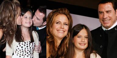 Kelly Preston & John Travolta mit Tochter Ella Blue