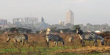 Kenias Hauptstadt ist nicht weit entfernt