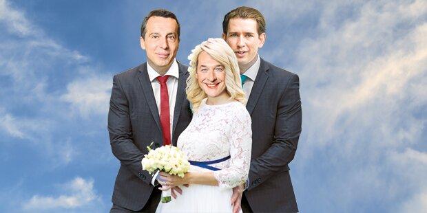 Werben um die blaue Braut