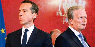 Kanzler-Sohn verschickte Rücktritts-Gerüchte