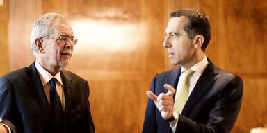 Bundespräsident und Kanzler im selben Flugzeug