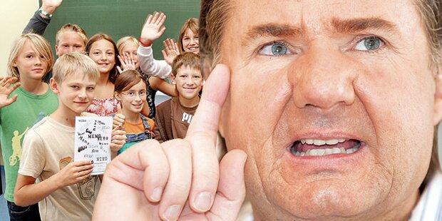 Die Lehrer müssen ganztags in Schule