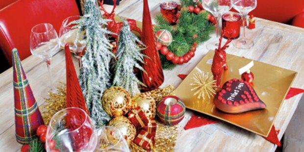 Mein schönster Weihnachts-Tisch