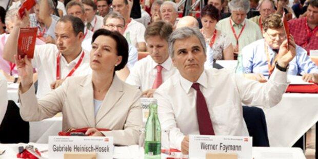 SPÖ beschließt Frauenquote bei Listen