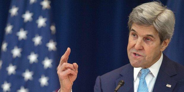 Kerry warnt Israel vor
