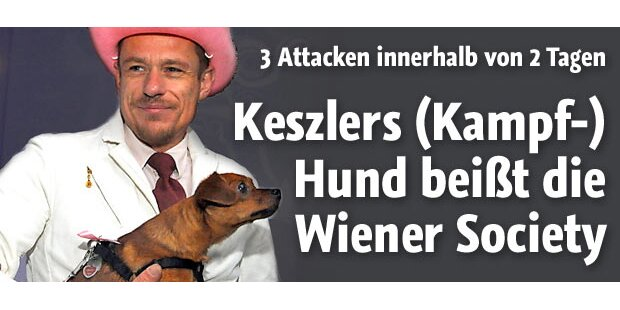 Gery Keszlers Hund: Society in Panik