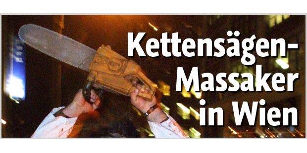 Motorsägen-Massaker mitten in Wien