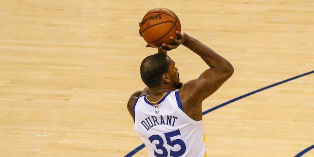 Warriors nach Sieg in Houston im NBA-Finale