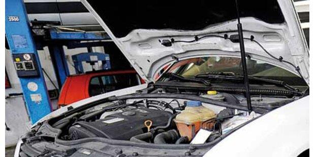 Auto nicht repariert sondern geschrottet