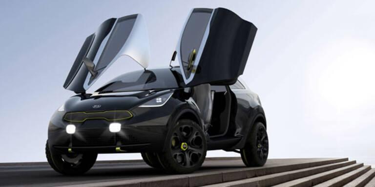 """Kia zeigt spektakuläre SUV-Studie """"Niro"""""""