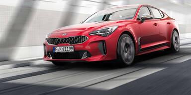 Kia Stinger greift Audi A5 Sportback an