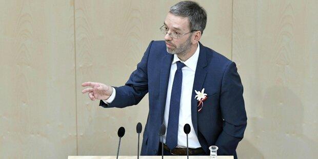 FPÖ-Kickl verteidigt Präsident Van der Bellen