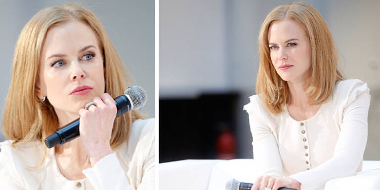 Nicole Kidman in der Wiener City